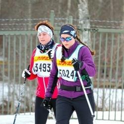Skiing 30 km - Lena Blixt (13493), Jenny Ekholm (15024)
