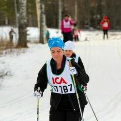 Skiing 30 km - Adina Nisell (17187)