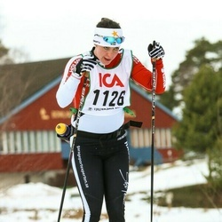Skiing 30 km - Jennie Magnusson (1126)