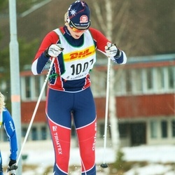 Skiing 30 km - Agnes Wilkenson (1007)