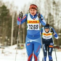 Skiing 30 km - Malin Hedlund (1269)