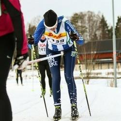 Skiing 30 km - Jenny Johansson (2139)