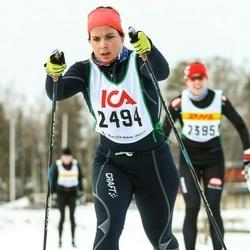 Skiing 30 km - Elina Wahlberg (2494)