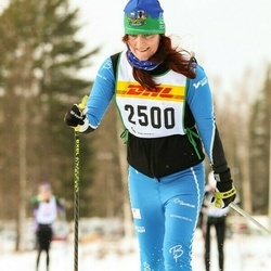Skiing 30 km - Christina Forss (2500)