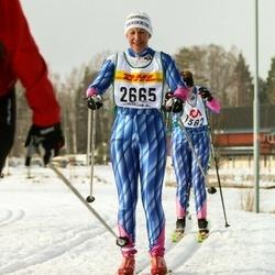 Skiing 30 km - Susanne Svensson (2665)