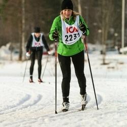 Skiing 30 km - Siv Ekberg (2232)