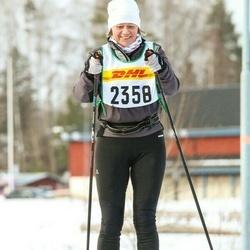Skiing 30 km - Annika Strandell (2358)