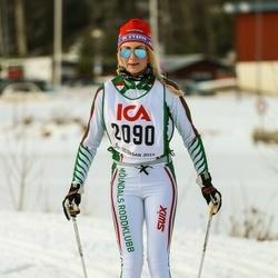 Skiing 30 km - Åsa Halldin (2090)