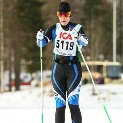 Skiing 30 km - Jenny Johansson (3119)