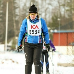 Skiing 30 km - Agnetha Le Claire (3534)