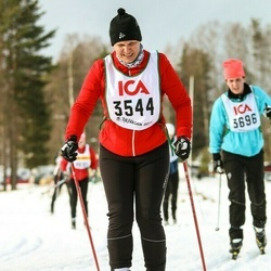 Skiing 30 km - Charlotta Hagberg (3544)