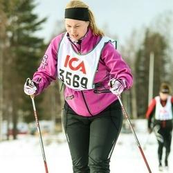 Skiing 30 km - Cecilia Danneke (3569)