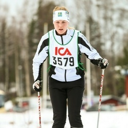 Skiing 30 km - Jennie Andersson (3579)