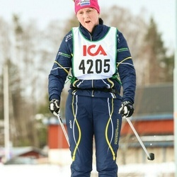 Skiing 30 km - Monica Sandström (4205)