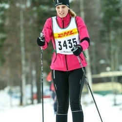 Skiing 30 km - Magdalena Stenman (3435)