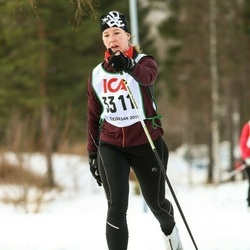Skiing 30 km - Gunilla Åberg (3311)