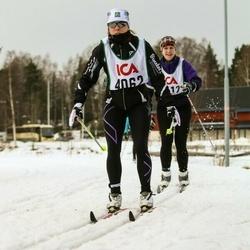 Skiing 30 km - Erika Staaf (4062)