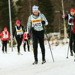 Skiing 30 km - Cecilia Almegård (3472)