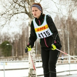 Skiing 30 km - Lovisa Ahlinder (4115)
