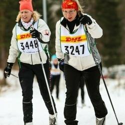 Skiing 30 km - Pernilla Nilsson (3247), Åsa Blidby (3448)
