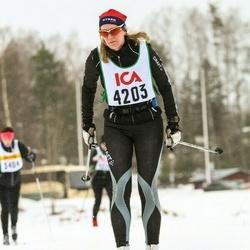 Skiing 30 km - Jennie Elmgren (4203)