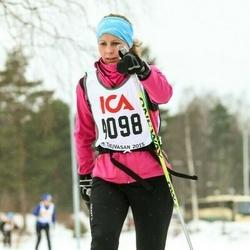 Skiing 30 km - Jenny Oredsson Lind (4098)