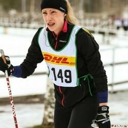 Skiing 30 km - Jannika Broomé (4149)