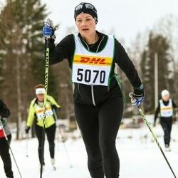 Skiing 30 km - Ebba Larsson (5070)