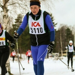 Skiing 30 km - Asveig Borg Rasmussen (5110)
