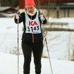 Skiing 30 km - Martina Widstrand (5143)