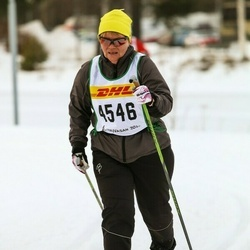 Skiing 30 km - Gunborg Gidby (4546)