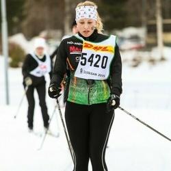 Skiing 30 km - Tora Westerberg (5420)