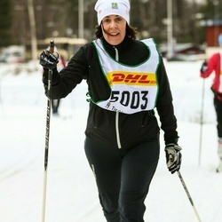 Skiing 30 km - Helen Björkmyr (5003)
