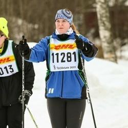 Skiing 30 km - Britta Nordström (11281)