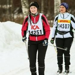 Skiing 30 km - Ebba Ågebro (14251)