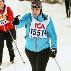 Skiing 30 km - Janina Westin (15514)