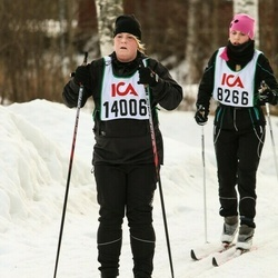 Skiing 30 km - Jennie Ladeborn (14006)