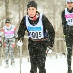 Skiing 90 km - Kristina Bredin (4005)