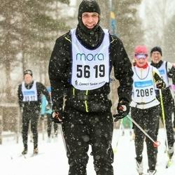 Skiing 90 km - Christian Runsten (5619)