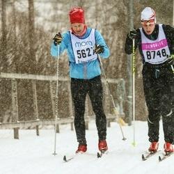 Skiing 90 km - Johan Stigbäck (5627), Patrick Phua (8748)