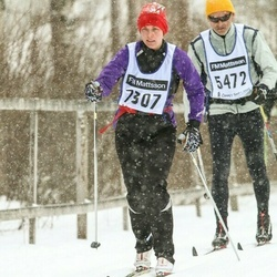 Skiing 90 km - Jennicka Berglind Uhlin (7307)