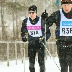 Skiing 90 km - Anton Kristensen (679)