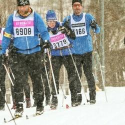 Skiing 90 km - Jonny Karlsson (3166), Agneta Björkman (6779)