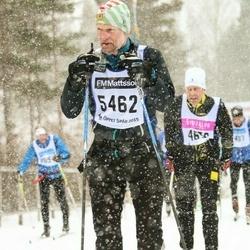 Skiing 90 km - Åke Johansson (5462)