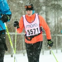 Skiing 90 km - Christina Eliasson Skoglar (5571)