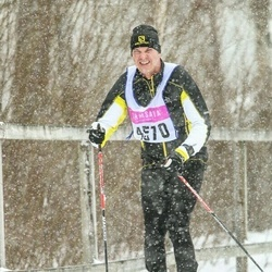 Skiing 90 km - Daniel Häägg (4570)