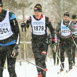 Skiing 90 km - Fredrik Zetterlund (1978)