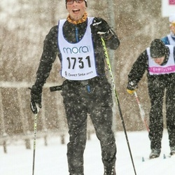 Skiing 90 km - Andreas Daleskog (1731)