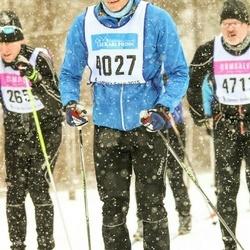 Skiing 90 km - Jonas Lindskog (4027)