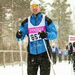 Skiing 90 km - Fredrik Gropman (6578)